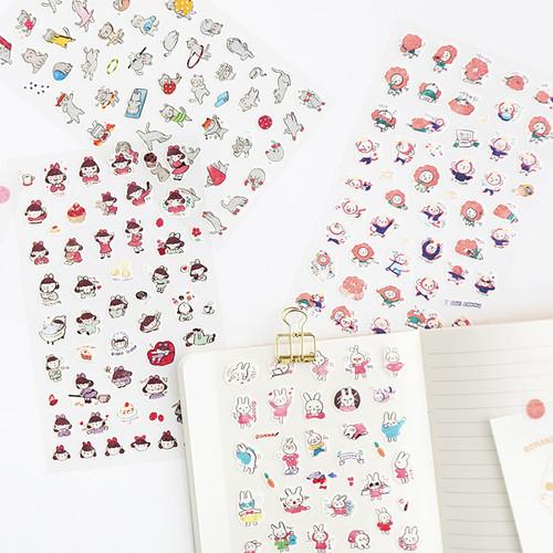 Hellogeeks petite deco sticker set
