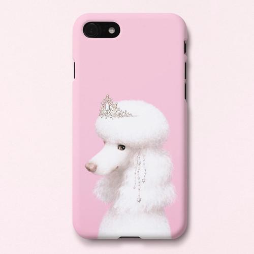 Poodle Didi polycarbonate iPhone case