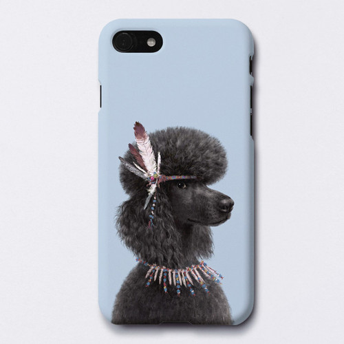 Poodle Toma polycarbonate iPhone case