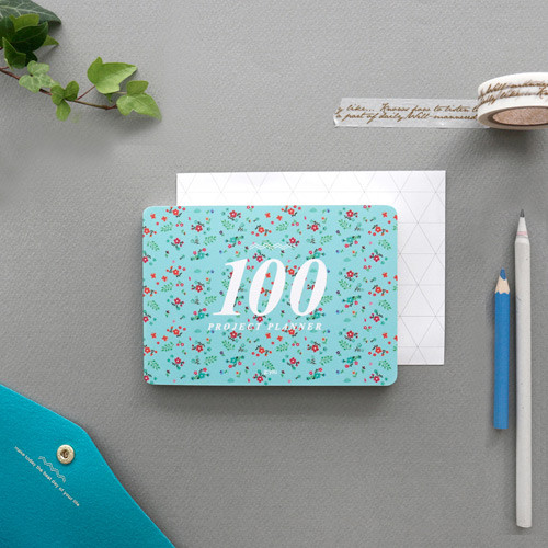 London life - 100 day project planner