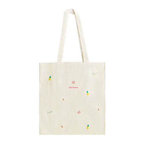 hello summer eco tote bag