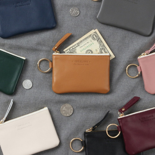 The Classic leather card wallet
