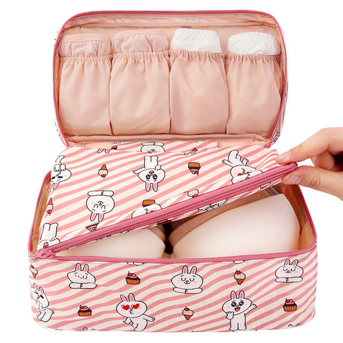 Line friends travel large pouch bag for underwear and bra