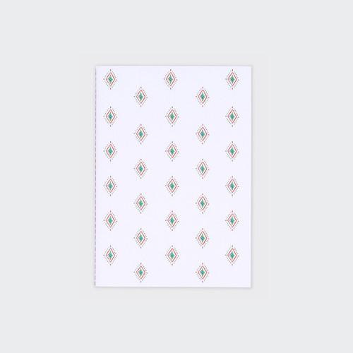 Eun bi pattern sewn bound B6 plain notebook