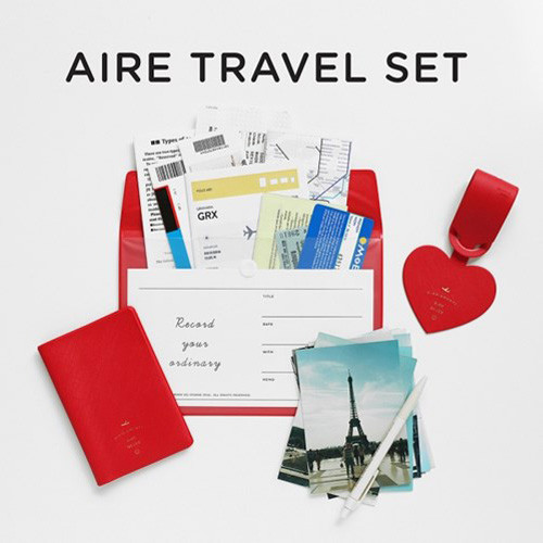 Aire delce travel essentials set