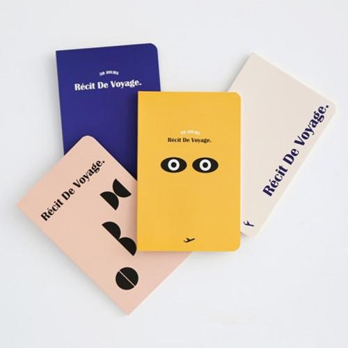 Recit de voyage travel planner notebook