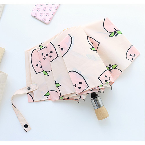 Life studio automatic foldable pattern umbrella