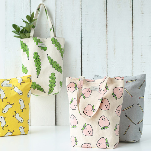 Jam Jam pattern small tote bag