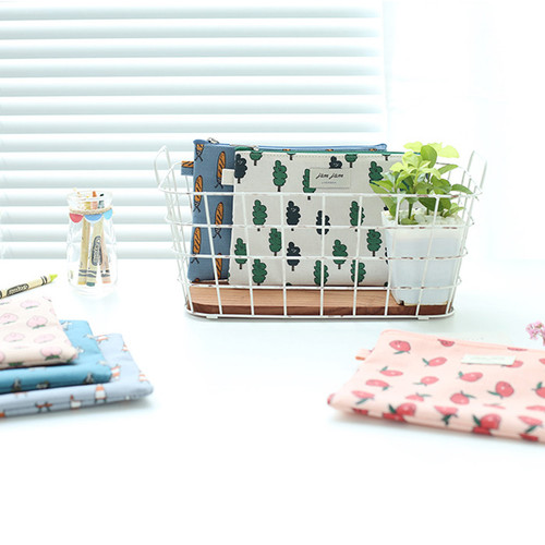 Jam Jam cute illustration pattern zipper pouch