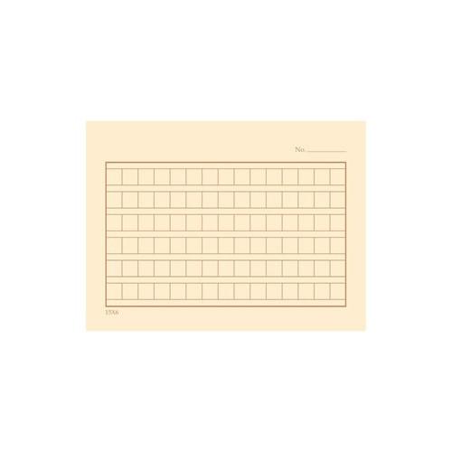 Coffee squared manuscript paper postcard
