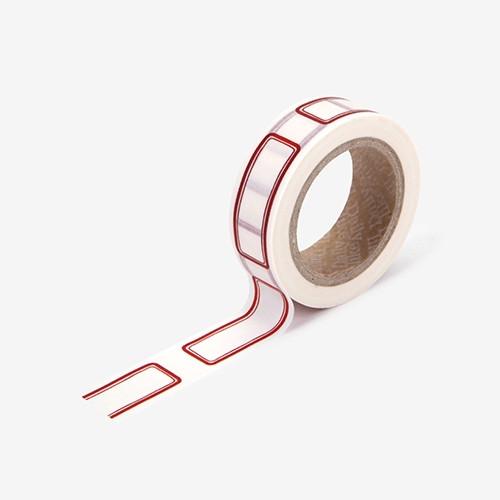 "Deco 0.59""X11yd single masking tape - Name tag"