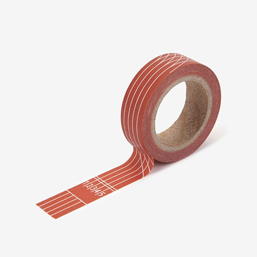 "Deco 0.59""X11yd single masking tape - Track"