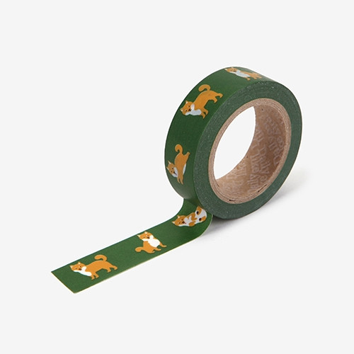 "Deco 0.59""X11yd single masking tape - Shiba"