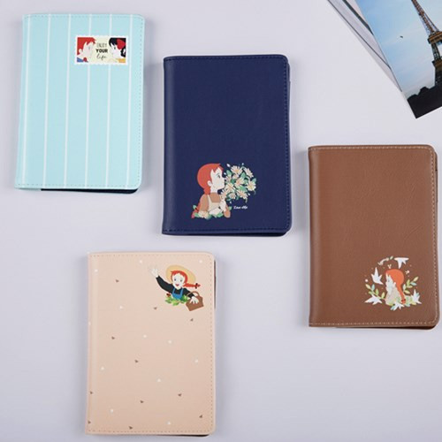 Anne of green gables RFID blocking passport cover