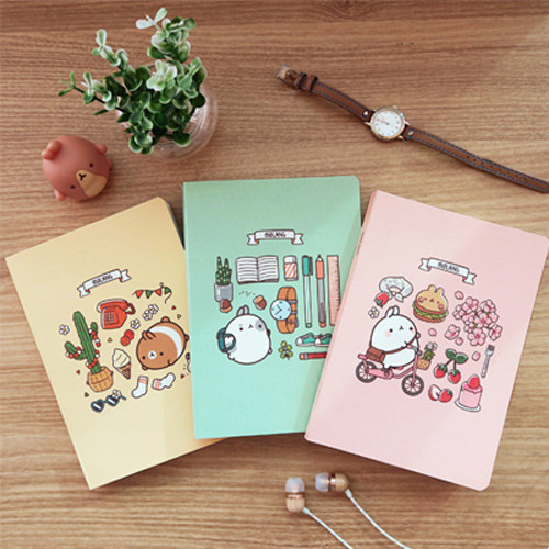 Molang undated weekly diary agenda