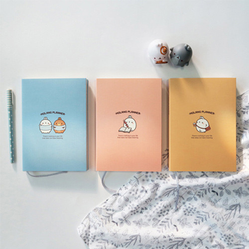Molang undated weekly planner scheduler ver2