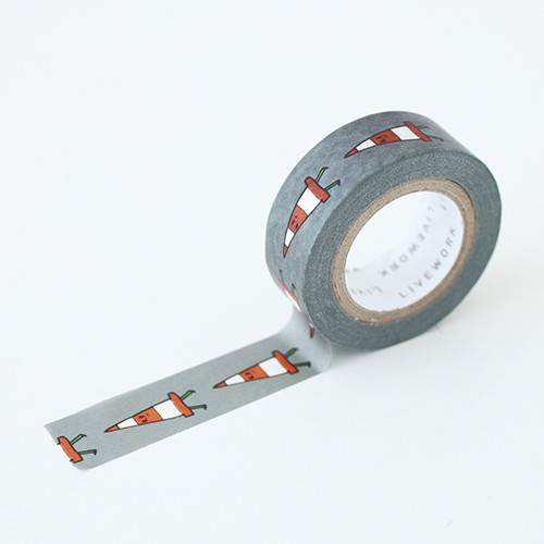 "Jam Jam cone 0.59""X11yd single deco masking tape"