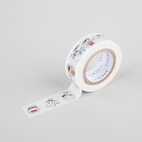 "Todac Todac haha 0.59""X11yd single deco masking tape"