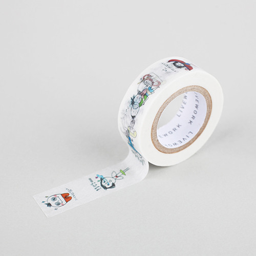 "Todac Todac todac 0.59""X11yd single deco masking tape"