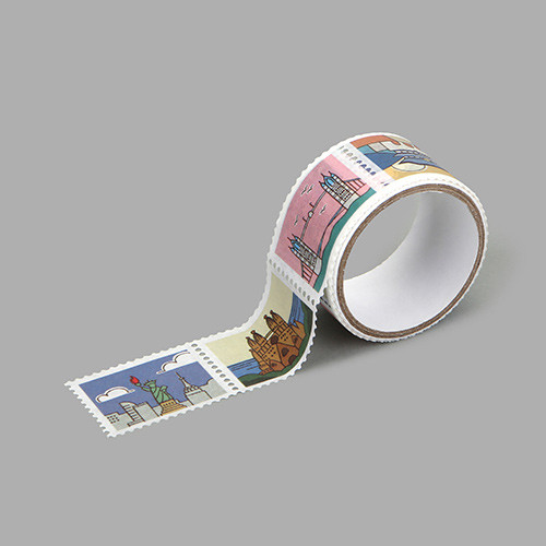 Dailylike Landmark deco single stamp masking tape