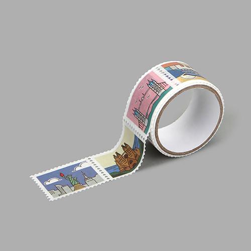 Dailylike Landmark deco single stamp masking tape