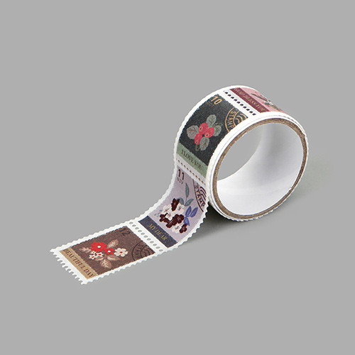 Dailylike Flower deco single stamp masking tape