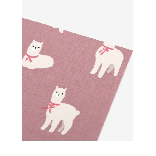 Dailylike Deco fabric sticker 1 sheet A4 size - Alpaca