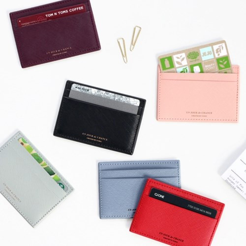 ICONIC Un jour de chance flat card case holder