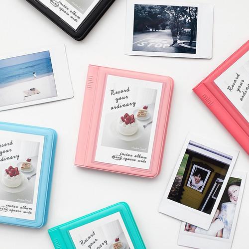 Colorful Instax mini small slip in pocket photo album