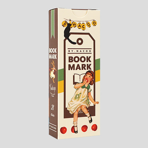 Nacoo Vintage bookmark set