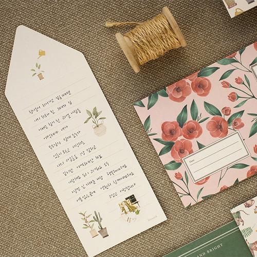 Livework Proust pattern folded card set