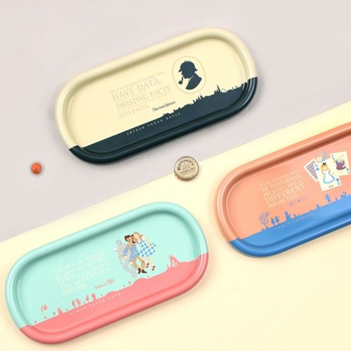 Bookfriends World literature pencil pen tray