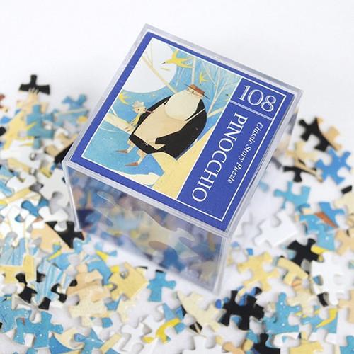 Fairy tale 108 piece jigsaw puzzle - Pinocchio