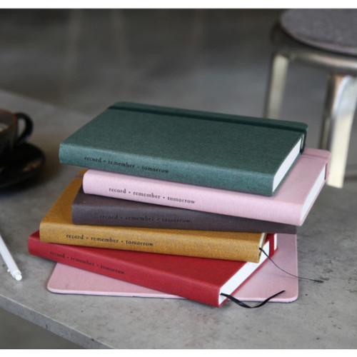 Making memory hardcover medium lined notebook
