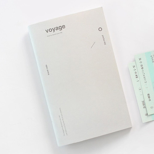 Poche voyage travel planner notebook