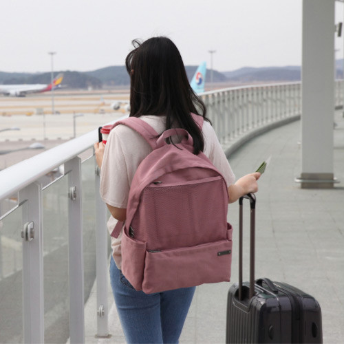 Indi pink - Travelus travel backpack for anything