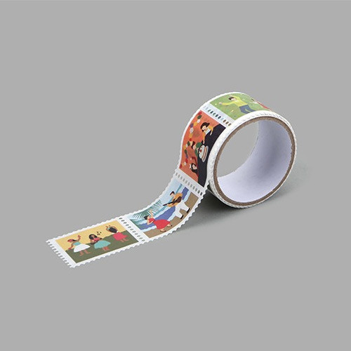 Party deco single stamp masking tape