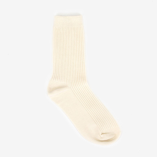 Dailylike Comfortable yours for life daily socks - Cream