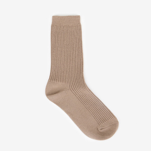 Dailylike Comfortable yours for life daily socks - Dark beige