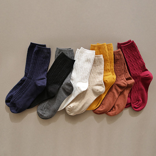 Dailylike Comfortable yours for life lycra twist women socks