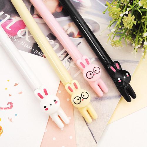 2Young Rabbit black gel pen 0.5mm