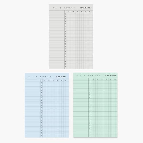 10 minutes daily plan memo notepad