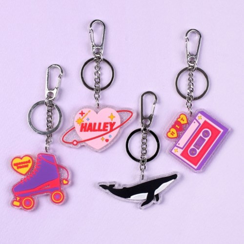 After The Rain Twinkle youth club keyring keychain