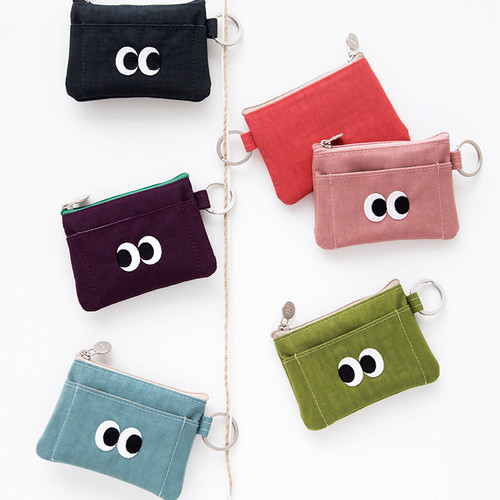 Livework Som Som stitching card case with key ring ver2