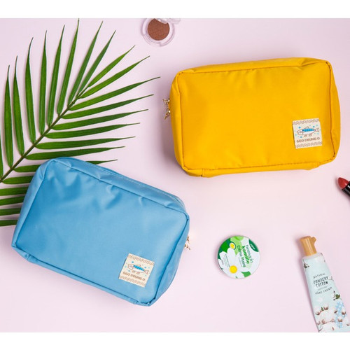 Ggo deung o beauty cosmetic makeup pouch