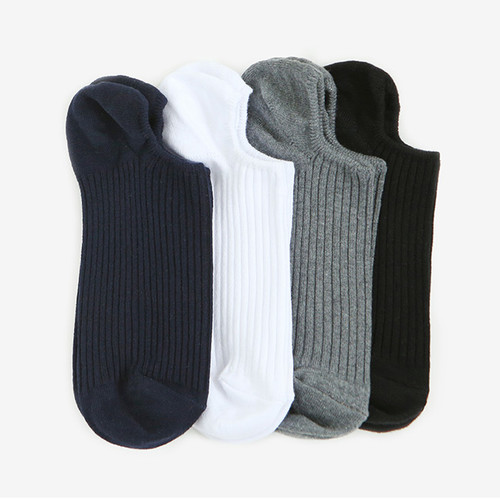 Dailylike Daily basic men no show socks