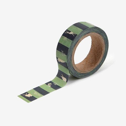 Dailylike Deco 0.59X11yd single masking tape - Hide and seek