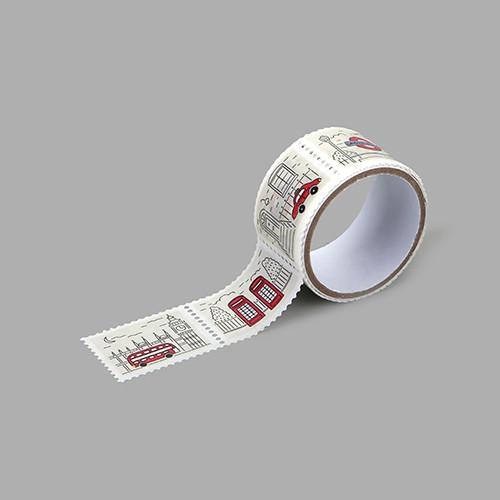 Dailylike London deco single stamp masking tape