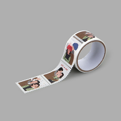 Dailylike Photo booth deco single stamp masking tape