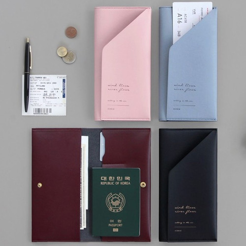 Iconic Slit passport cover case holder wallet